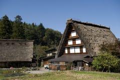 Traditional village, Shirakawa-go, Japan Royalty Free Stock Photography