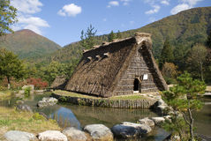 Traditional village, Shirakawa-go, Japan Royalty Free Stock Photography