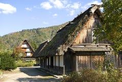 Traditional village, Shirakawa-go, Japan Royalty Free Stock Photo