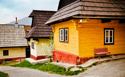 Traditional village in Slovakia. Europe Stock Photography