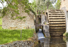 Free Traditional Village Stone Water Mill In Cotswolds Stock Photo - 65511100