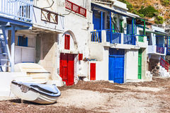 Traditional villages of Greece Stock Photography