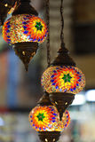 Traditional Vintage Turkish Lamp Royalty Free Stock Photo