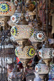 Traditional Vintage Turkish Lamp Royalty Free Stock Images