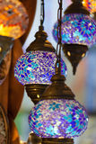 Traditional Vintage Turkish Lamp Stock Photo