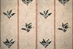 Traditional wallpaper pattern Royalty Free Stock Photo
