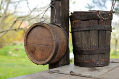 Traditional water containers Royalty Free Stock Photos