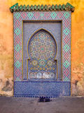 Traditional water fountain - Fez, Morocco Royalty Free Stock Photography