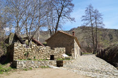 Traditional watermill in Agios Germanos, Prespes Royalty Free Stock Photo