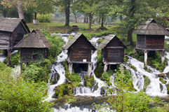 Traditional watermills Stock Photos