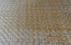 Traditional wattle handcraft product, made form bamboo. Royalty Free Stock Image