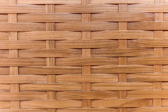 Traditional wattle wall, made form bamboo, concept for backgroun Royalty Free Stock Images