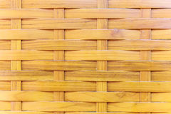 Traditional wattle wall, made form bamboo. Stock Images