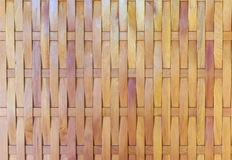 Traditional wattle wall, made form bamboo, Stock Photo