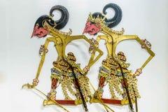 Wayang puppets of Indonesia. Traditional Wayang puppets of Indonesia Royalty Free Stock Image