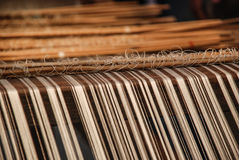 Traditional weave, Thailand Royalty Free Stock Images