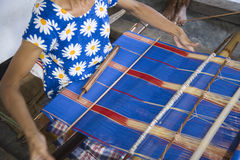 Traditional weaving Royalty Free Stock Image