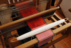 Traditional weaving hand loom Royalty Free Stock Image