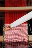 Traditional weaving hand loom Stock Photos