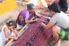 Happy family Indonesia Stock Image