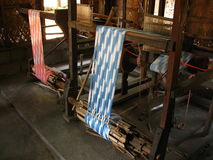 Traditional Weaving Looms Royalty Free Stock Photo