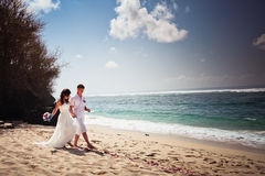 Traditional wedding in Bali Stock Photography