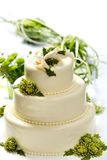 Traditional wedding cake Stock Image