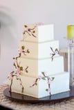 Traditional Wedding Cake Stock Photography