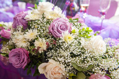 Traditional wedding flowers Royalty Free Stock Image