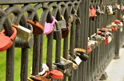 Traditional wedding locks Stock Photography