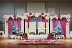 Traditional wedding stage Royalty Free Stock Photography