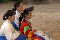 Traditional wedding, Suwon, Korean Republic Royalty Free Stock Images