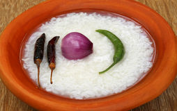 Traditional wet rice of Bangladesh Stock Photography