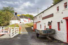 Traditional whisky distillery stock image