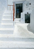 Traditional White House in Pyrgos Stock Photography