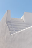 Traditional whitewashed house on Santorini Royalty Free Stock Photography