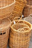 Traditional wicker baskets. Stock Photography