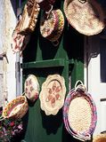 Traditional wickerwork, Cyprus. Royalty Free Stock Image