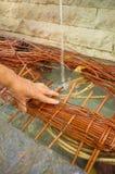 Traditional wickerwork Stock Photos