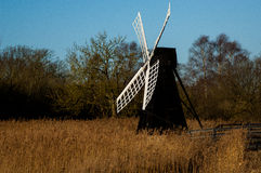 Traditional wind pump Royalty Free Stock Photos