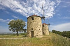 Traditional windmill Royalty Free Stock Images
