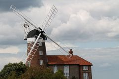 Traditional Windmill. Stock Image