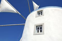 Windmill belong to Sesimbra countryside region, Portugal Royalty Free Stock Photo