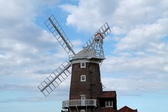 Traditional Windmill. Royalty Free Stock Image