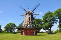 Traditional windmill in copenhagen, denmark Royalty Free Stock Photos