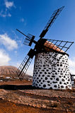 Traditional windmill in Fuerteventura Stock Image