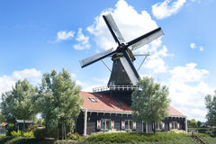 Traditional windmill house Royalty Free Stock Photography
