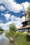 Traditional windmill house Stock Image