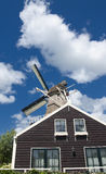 Traditional windmill house Stock Photo