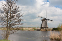 Traditional windmill, Kinderdijk, the Netherlands Stock Image